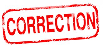 Accept Correction from God