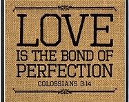 LOVE:  The Bond of Perfection