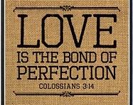 LOVE:  The Bond ofPerfection