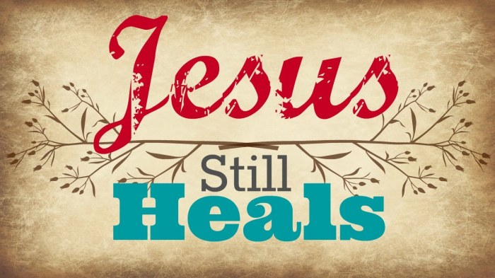 Healing In the Atonement of Christ, Pt.1