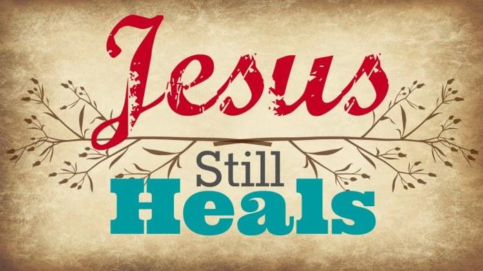 My Healing Testimony