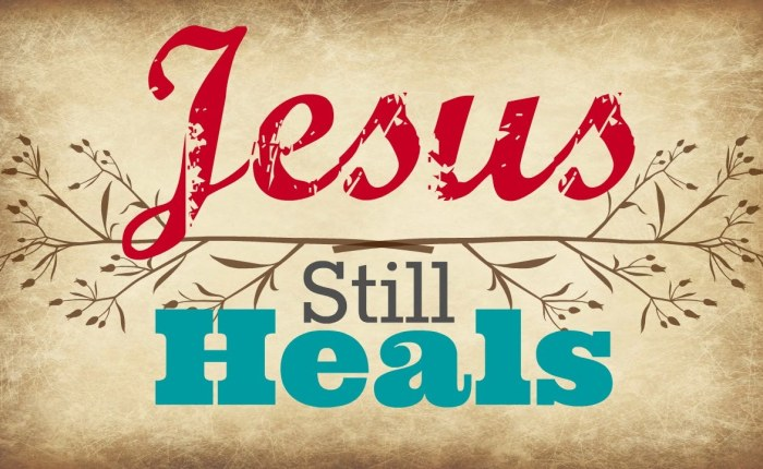 Healing In the Atonement of Christ, Pt. 1