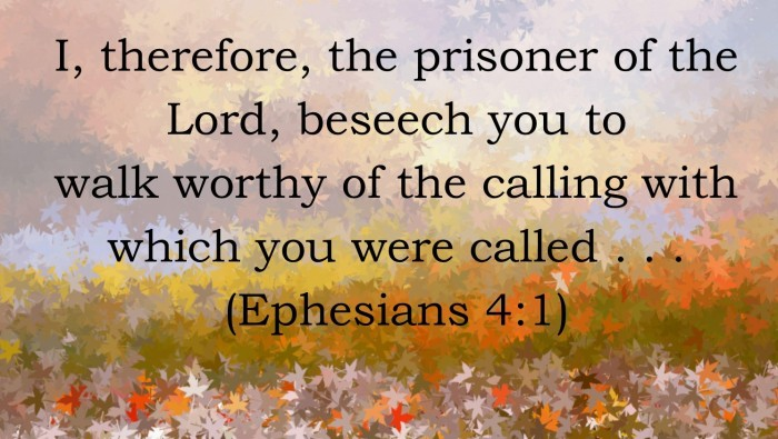 How to React to the Enemy; OurCalling