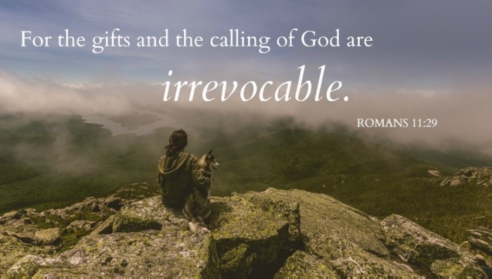 Irrevocable Gifts & Calling