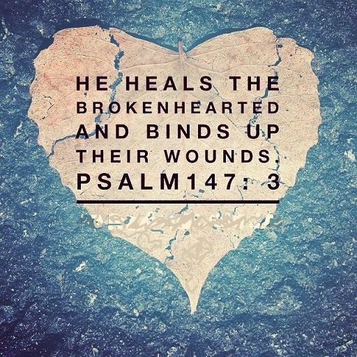 God Heals theBrokenhearted