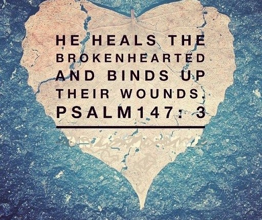 God Heals the Brokenhearted