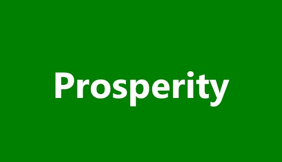 What About Prosperity?