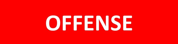 How to Deal With Offenses