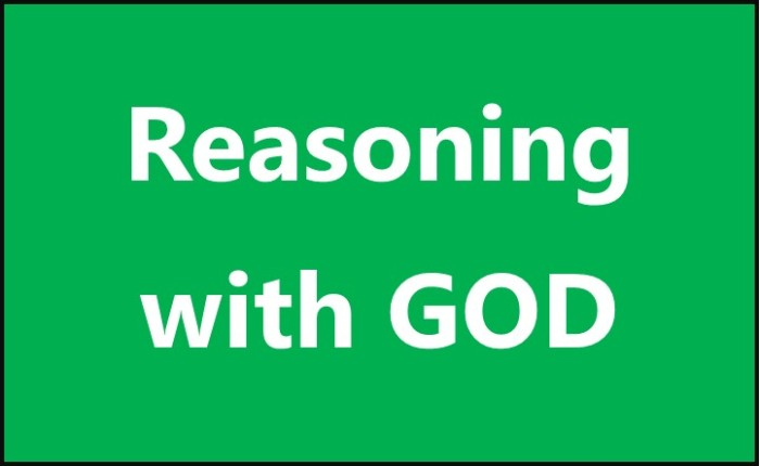 Reasoning with God