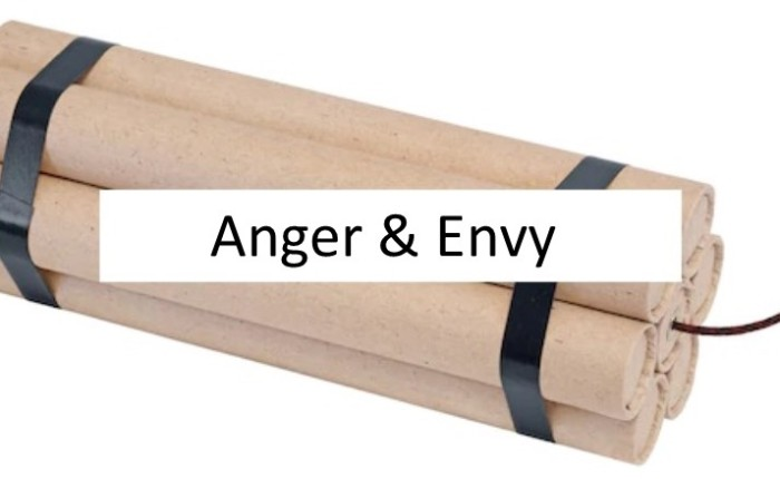 Put Away Anger &Envy