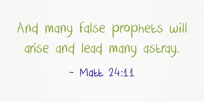 Look Out for False Teachings