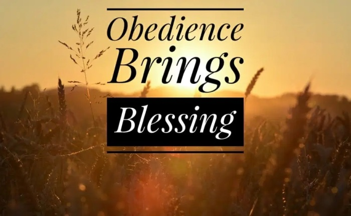 Obedience to God's Will
