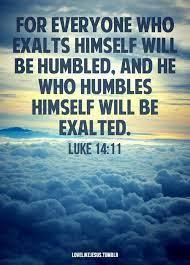 God Loves Humility