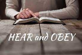 Do You Hear & ObeyInstruction?