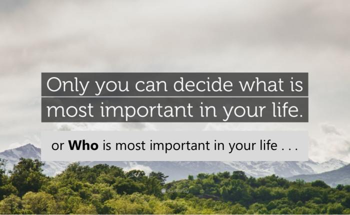 What's Your Decision?